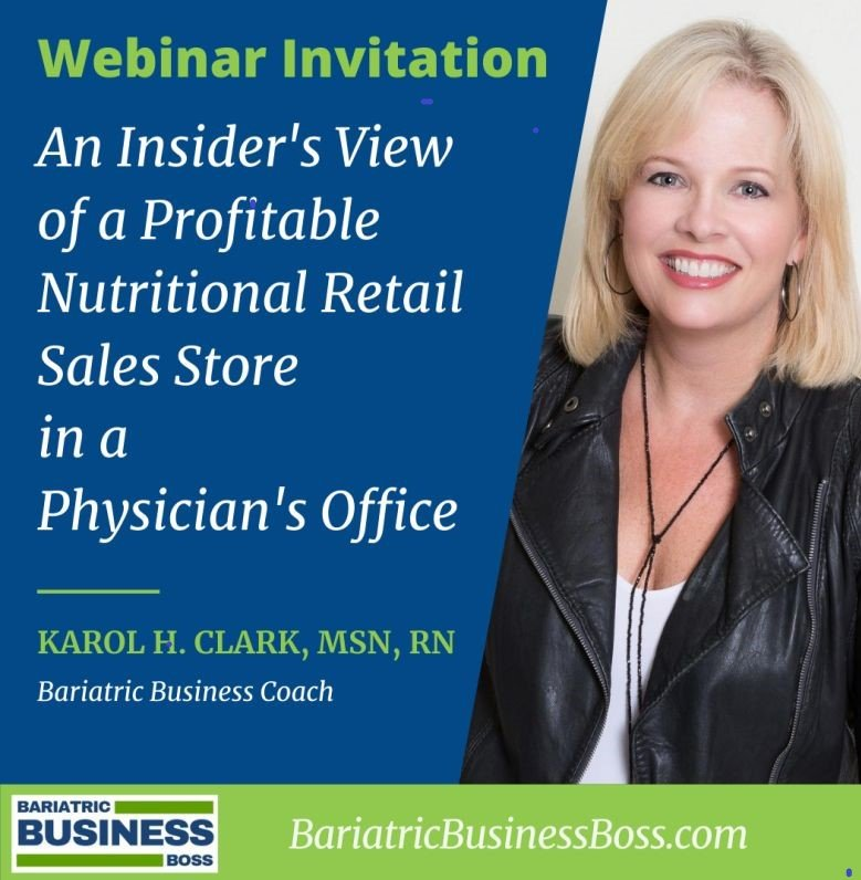 An Insiders View of a Profitable Nutrition Store in a Physician's Office